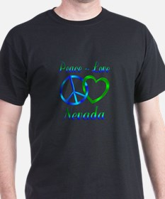 Peace Love Nevada T-Shirt