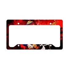 Jaco Red License Plate Holder