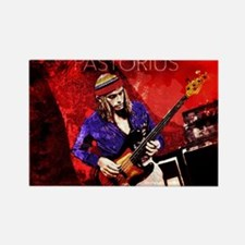 Jaco Red Rectangle Magnet