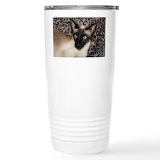 Seal Point Siamese Cat  Travel Coffee Mug