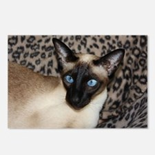 Seal Point Siamese Cat Ja Postcards (Package of 8)