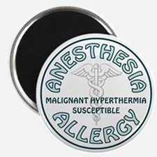ANESTHESIA ALLERGY Magnet