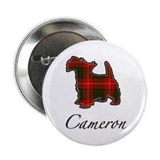 "Clan Cameron Scotty Dog 2.25"" Button (10 pack)"