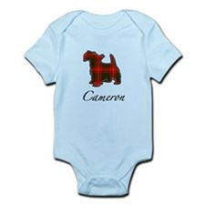 Clan Cameron Scotty Dog Infant Bodysuit