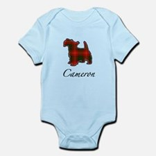 Clan Cameron Scotty Dog Infant Bodysuit