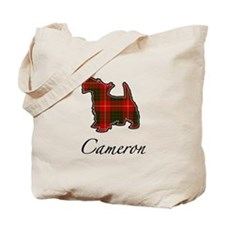 Clan Cameron Scotty Dog Tote Bag
