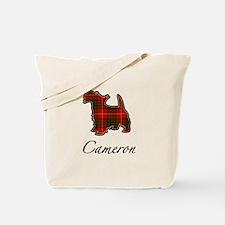 Clan Cameron Scotty Dog Tote Bag
