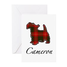 Clan Cameron Scotty Dog Greeting Cards (Package of