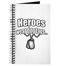 Heroes wear dog tags 2 Journal