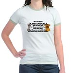 Dumb Animals Jr. Ringer T-Shirt