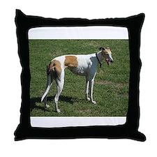 greyhound full Throw Pillow