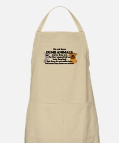 Dumb Animals Apron