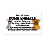 Dumb Animals Mini Poster Print