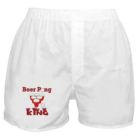 Beer Pong Boxer Shorts