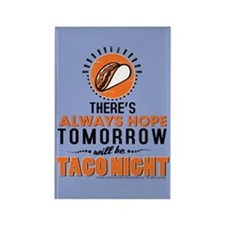 OITNB Taco Night Rectangle Magnet