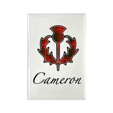 Clan Cameron Thistle Rectangle Magnet