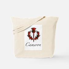 Clan Cameron Thistle Tote Bag