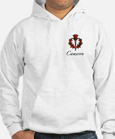 Clan Cameron Thistle Hoodie