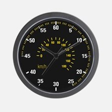 Car Speedometer Dial Wall Clock