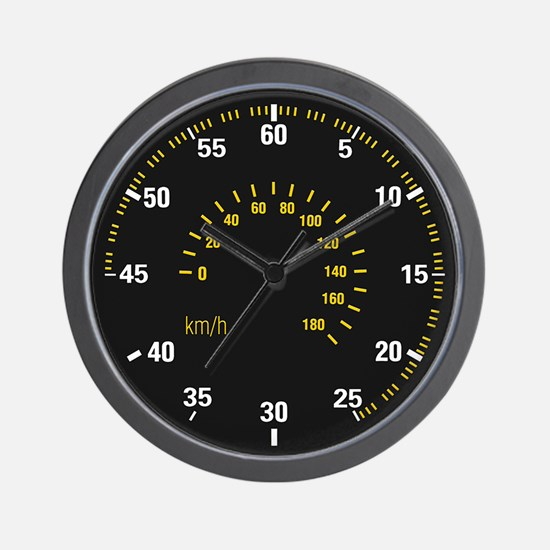 Car Speedometer Dial Wall Clock