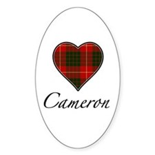 Love your Clan - Cameron Oval Decal