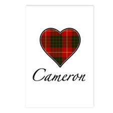 Love your Clan - Cameron Postcards (Package of 8)