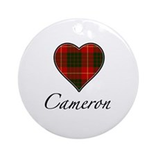 Love your Clan - Cameron Ornament (Round)