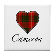 Love your Clan - Cameron Tile Coaster