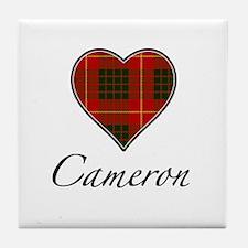 Love your Clan - Cameron Tile Coaster