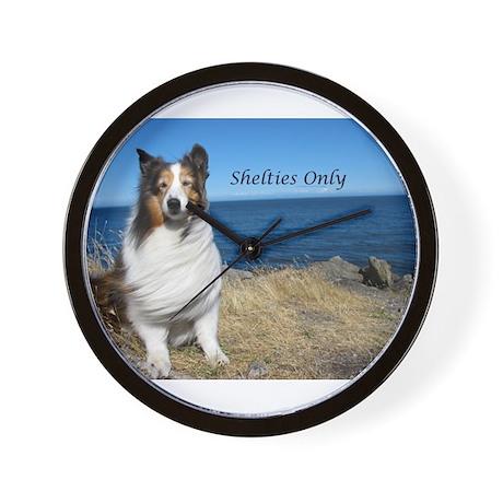 Shetlties Only Wall Clock