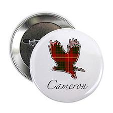 Clan Cameron Golden Eagle Button