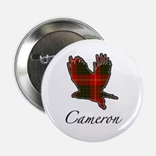 Clan Cameron Golden Eagle Button