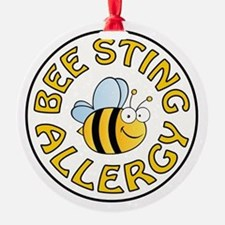 BEE STING ALLERGY Ornament