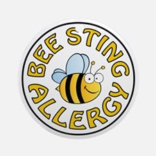 BEE STING ALLERGY Ornament (Round)