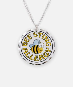 BEE STING ALLERGY Necklace