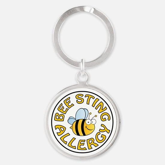 BEE STING ALLERGY Keychains