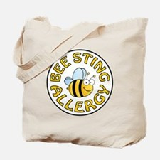 BEE STING ALLERGY Tote Bag