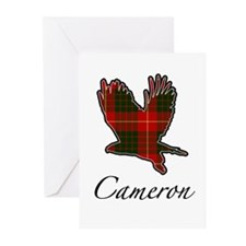 Clan Cameron Golden Eagle Greeting Cards (6 cards)