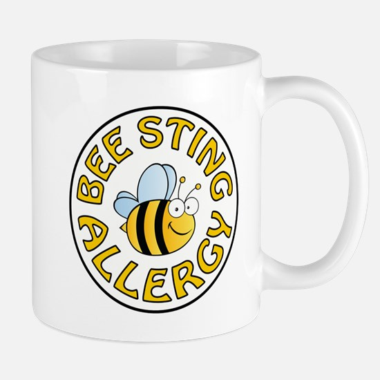 BEE STING ALLERGY Mugs