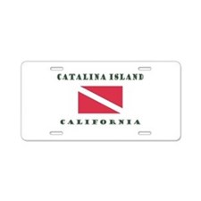 Catalina Island California Aluminum License Plate
