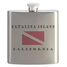 Catalina Island California Flask