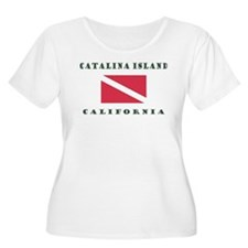 Catalina Island California Plus Size T-Shirt