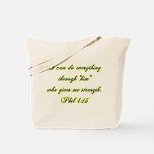 Phil 4:13 Tote Bag