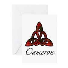 Clan Cameron Celtic Knot Greeting Cards (6 cards)
