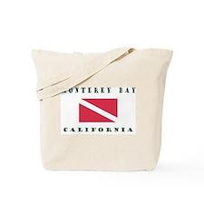 Monterey Bay California Tote Bag