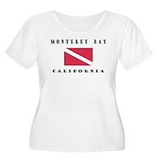 Monterey Bay California Plus Size T-Shirt