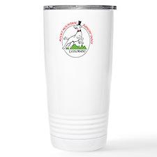 Rocky Mountain Dancin' Dogs Logo Travel Mug