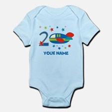 2nd Birthday Airplane Infant Bodysuit