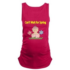 Cant Wait for Spring 2 Maternity Tank Top