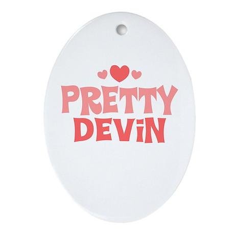 Devin Oval Ornament